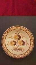 PLATO CERAMICA TALAVERA S. MORA modelo siglo XVlll FLORES Coleccionismo Museo