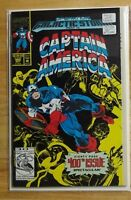 CAPTAIN AMERICA #400 1992 FLIP BOOK WITH DOUBLE GATEFOLD COVER