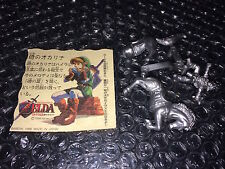 ZELDA Ocarina Of Time 1998 Bandai Japan RAMUNE FIGURE LINK EPONA & CARD NEW
