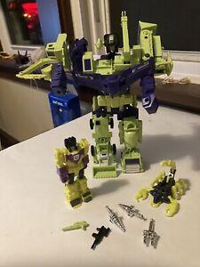 Transformers G1 Vintage Devastator Action Master Constructicons Accs. Lot
