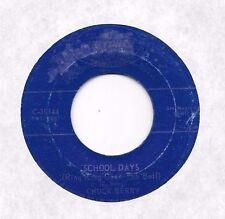 CHUCK BERRY * 45 * School Day / Memphis, Tennessee * 1950s * UNPLAYED MINT * RI