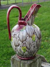 ANTIQUE Museum Quality 17th C. Montelupo Italian Majolica PITCHER Raku Pottery
