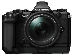 Olympus OM-D E-M5 Mark II, 16.1 megapíxeles, Full HD, M.Zuiko 14-150mm