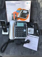 AT&T CL84202 DECT 6.0 Expandable Phone System with Digital Answering NOT TESTED