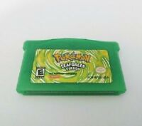 Pokemon Leaf Green LeafGreen Version GBA Gameboy Advance Reproduction