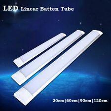 Led Batten Tube Light 1Ft 2Ft 3Ft 4Ft Ceiling Surface Mount Lamp Office Fixtures