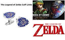 Men's Jewelry Stainless Steel Zelda Shield Party Shirt Cufflinks Cuff Link