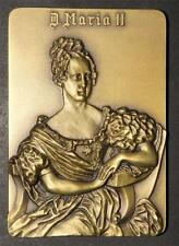 MONARCHY/ QUEEN MARY II/END SLAVERY / SUPER ENGRAVING BRONZE /341grs. M2