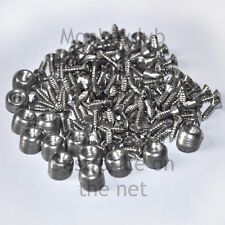 VW BAY CAMPER T2 stainless INTERIOR PANEL Trim Screws & Cups - 260 piece kit