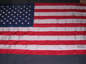 8X12 NYLON EMBROIDERED USA FLAG AMERICAN FLAGS NEW F565
