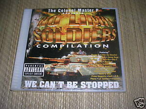 Master P Presents No Limit Soldiers - We Can't Be Stopped CD sealed NEW OOP