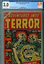 Adventures into Terror #19 Atlas Comics 1953 CGC Graded 3.0