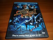 Starship Troopers 2: Hero of the Federation (DVD, 2004, Widescreen) Used