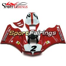 Red White ABS Bodywork For DUCATI 996 748 916 998 1996-2002 Monoposto Cowlings
