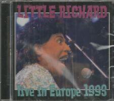 LITTLE  RICHARD - CD - Live In Europe 1993 - BRAND NEW