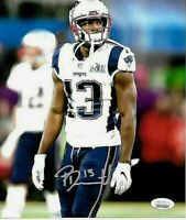 Phillip Dorsett New England Patriots Autographed hand signed 8x10 photo JSA--Coa