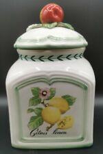 Vintage Villeroy & Boch French Garden Charm Large Storage Jar / Canister 24 cm