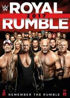 Wwe: Royal Rumble 2017 (2017, DVD NUOVO) (REGIONE 1)