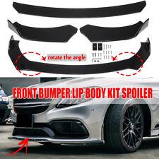 Universal Car Front Bumper Lip Body Kit Spoiler For BMW AUDI HONDA Mazda Subaru
