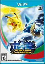 WII U POKEMON TOURNAMENT BRAND NEW VIDEO GAME POKKEN TOURNAMENT