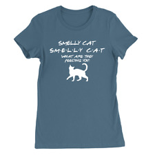 Smelly Cat Womens T-Shirt Friends TV Show Funny Present