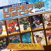 NHL UD Canvas 2020-21 Upper Deck Series 1 Selection (Pick From List)