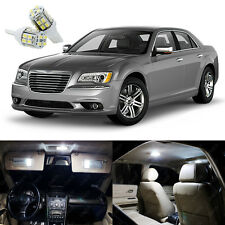 21 x Xenon White LED Interior Light Package Kit For Chrysler 300 300C 2011- 2018
