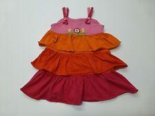 Kids Play Girls Size 6 Striped Layered Knit Dress Good Condition