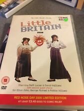LITTLE BRITAIN THE COMIC RELIEF SPECIAL DVD