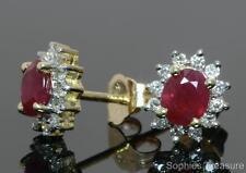 Ruby 18k Fine Earrings