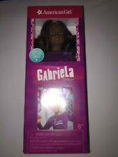 AMERICAN GIRL MINI DOLL GABRIELA McBride WITH BOOK Brand New