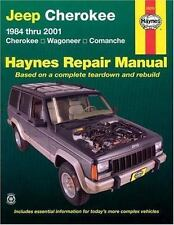Haynes Repair Manual: Jeep Cherokee 1984 Thru 2001 : Cherokee, Wagoneer,...