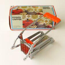 Coupe frites ancien mécanique - Vintage  - Grille amovible boite d'origine