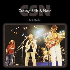 CROSBY STILLS & NASH w WALSH 2018 UNRELEASED 1980 CONCERT 2 VINYL RECORD SET