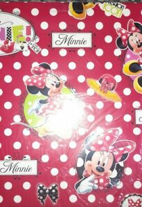 Minnie Mouse Wrapping Paper Disney Birthday Gifts 2 sheets & 2 gift tags 🎁