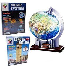 3D PUZZLE Globus Mundo World Globe / Big Ben / espacio
