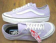 7788ace372 Vans Mens Style 36 Decon SF Salt Wash Lavender Fog Purple White Skate Shoes  NWT