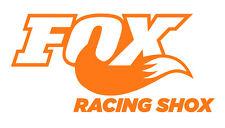 2 Pegatinas vinilo Naranja fluorescente FOX,  no 408