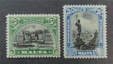 nystamps British Malta Stamp # 145.146 Mint OG H $50