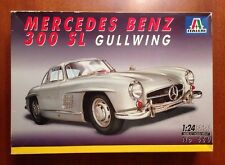 Mercedes Benz 300SL Gullwing - Italeri 1/24 scale unassembled automobile kit#660
