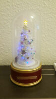 Mr. Christmas Limited Edition Holiday Musical Glass Dome 75th Anniversary