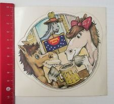 Aufkleber/Sticker: Tipper Jeans - Pferde (26031693)