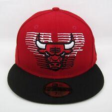 New Era Para hombre NBA Chicago Bulls Equipo Insignia acelerar 5950 equipado Cap - 7 1/4