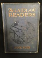 Antique Vintage 1928 THE LAIDLAW READERS BOOK FOUR Hardback Book Of Stories