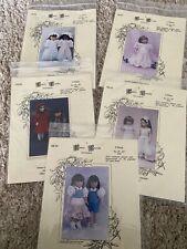 "Fancy Frocks Pattern Lot for American Girl 18"" Doll & other 18-20"