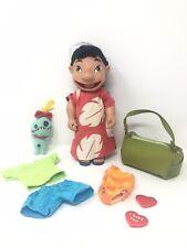 "Disney Store Lilo & Stitch Doll Dress Up Set 11"" Figure toy & clothes"