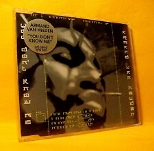 MAXI Single CD ARMAND VAN HELDEN You Don't Know Me 3TR 1999 house big beat