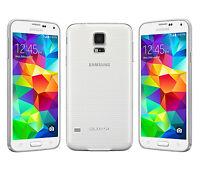 """5.1"""" Samsung Galaxy S5 G900P 4G 16GB 16MP Waterproof Débloqué Téléphone Blanco"""