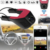 1080P HD Hidden WiFi Car DVR Video Recorder Dash Cam G Sensor with Rear Camera
