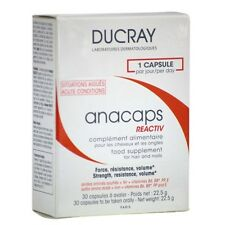 Ducray Anacaps Reactive - Dietary Supplement to Stregthen nails and hair 30 caps